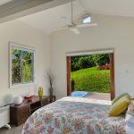 Master bedroom with external door
